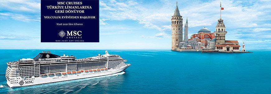 MSC Fantasia ile Ege & Adriyatik Turu