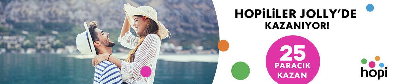"""<span style=""""letter-spacing: 0.3px;"""">Belirli tarihler arasında Jolly'den Şehir Otellerinde Hopi'de geçerli 25 Paracık'a kadar Paracık kazanma fırsatı. Ayrıntılı bilgi için kampanya detaylarını tıklayınız.</span>"""