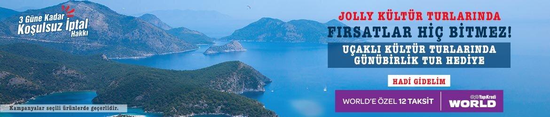 Uçaklı Kültür Turlarında Günübirlik Tur Hediye!