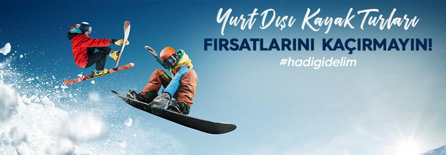 Kayak Keyfini Doruklarda Yaşayın!