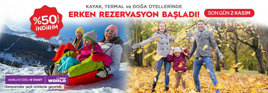 Kış Tatili Fırsatlarını Kaçırmayın!